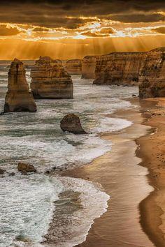 Twelve Apostles, The Great Ocean Road in Victoria, Australia