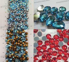 Online retailer deals in both small quantity and wholesale #Rhinestones as per the desired specifications of the customers.