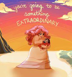 "captnkilljoy: """"You're going to be something extraordinary! Steven Universe Anime, Pink Diamond Steven Universe, Universe Art, Fanart, Cartoon Shows, Character Development, Best Shows Ever, Art Blog, Adventure Time"