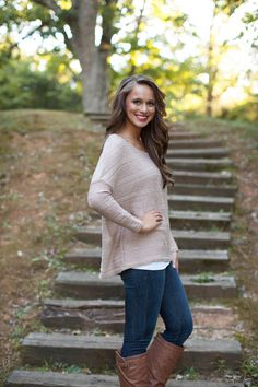 The Pink Lily Boutique - Show and Tell Sweater, $38.00 (http://www.thepinklilyboutique.com/show-and-tell-sweater/)