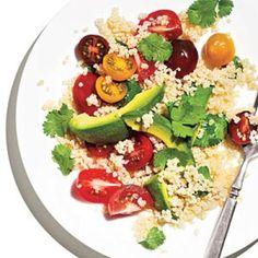 Heirlooms & Avocados Quinoa Salad | CookingLight.com
