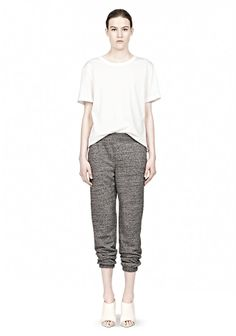 Hungover and late for class? All you want to do is throw on some sweats? Make sure they are some T by Alexander Wang's so you know you won't be pulling any fashion faux pas
