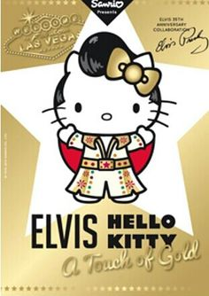 Hello Kitty as ELVIS