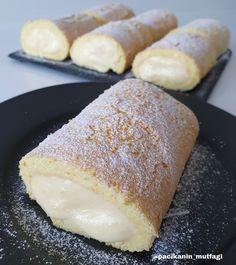 Banana Roll, Granulated Sugar, Sponge Cake, Cornbread, Cake Recipes, French Toast, Tart, Eggs, Cheese