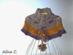 SOLD lo spazio di lilla: Collo-coprispalle ai ferri con lana Missoni / Knit...