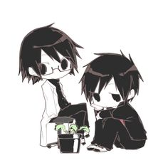 Orihara Izaya and Kishitani Shinra