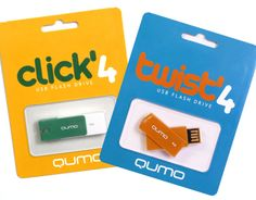 QUMO Memory Products Packaging and Graphics