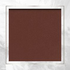 Silver frame on brown leather background vector | premium image by rawpixel.com / Te #vector #vectorart Images Wallpaper, Pastel Wallpaper, Paper Background, Textured Background, Simple Designs, Cool Designs, Free Illustrations, Digital Illustration, Pixel Art
