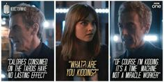 "Tardis doesn't stand for ""Time And Relative Dieting In Space: Doctor Who This were the Perfect lines"