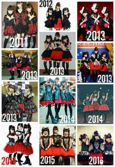 Babymetal, a Japanese metal hybrid band of these three badasses. they started there band at age 12! They rock harder than most.