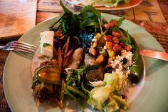 Best vegan buffet in town: Refeitorio Organico, Rio de Janeiro, Brazil
