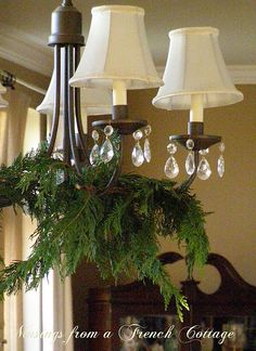 idea for my closet of chandeliers