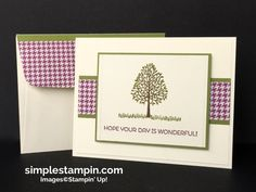 Stampin' Up!,Totally Trees Photopolymer Stamp,Cottage Cottage,Simply Scored…