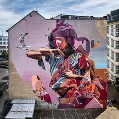 Streetart News [wall 1240] – Telmo Miel & James Bullough, Awer, Muraleslian -