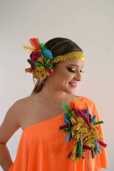 Fantasy Gifts, Summer Wear, Fancy Dress, Headpiece, Bandana, Afro, Carnival, Halloween Costumes, How To Wear