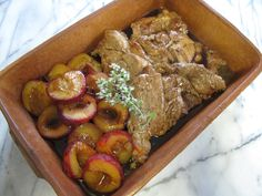 Pork Neck Steaks with Spicy Plum Sauce