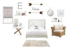 """Dream bedroom"" by eliana230 on Polyvore featuring interior, interiors, interior design, home, home decor, interior decorating, Home Decorators Collection, Pottery Barn, Moon and Lola and Foreside"