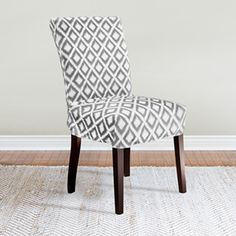 Coverworks Kendall Relaxed Fit Short Dining Chair Slipcover $29.99 from Overstock.com