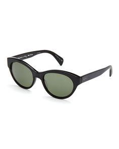 Paul Smith PM8235SU Black Cat Eye Polarized Sunglasses