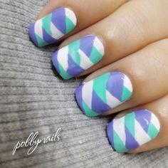 French Braid Nails! <3 http://instagram.com/p/gluiL0heqB/