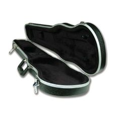 Deluxe Shaped Thermoplastic Violin Case - 3/4, Black Interior/Black Exterior . $39.99. The Thermoplastic case is often chosen by school music programs for its sturdy, reliable construction. Exterior is made of durable black thermoplastic. Black plush interior. 4 lbs (4/4).   Exterior Features: Two metal latches. Cl