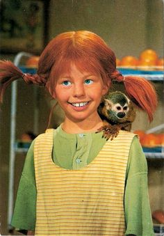I use to love watching Pippi Longstocking, I thought she was the strongest kid in the world.