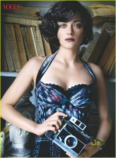 Marion Cotillard Vogue July 2010