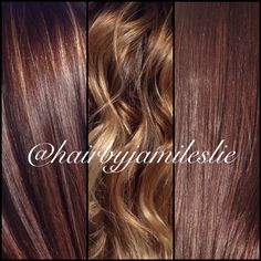 The colors of fall. Hair by Jami Leslie. Tiger Tail Salon- Carlsbad CA