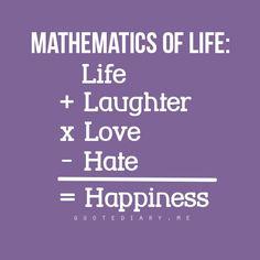Math of life