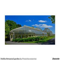Dublin Botanical garden Poster