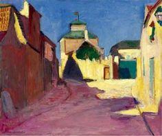 Henri Matisse : Une rue à Arcueil (1903/1904)