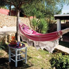 Beautiful hammock!
