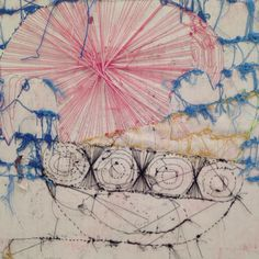 drawing with thread, Chelsea, February 25th