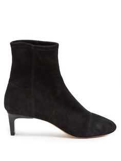 Étoile Daevol stretch-suede ankle boots  | Isabel Marant | MATCHESFASHION.COM