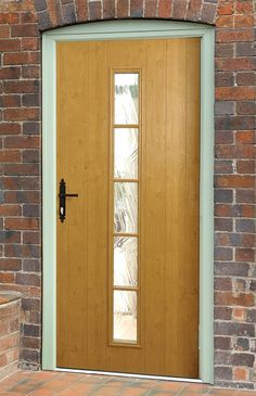 Not sure what composite door you want? Take a look at some of the beautiful composite door installations that Solidor has done and get inspired online here. Upvc Windows, Windows And Doors, Front Doors, Solidor Door, Composite Door, Contemporary Cottage, Engineered Wood, Types Of Wood, Tall Cabinet Storage