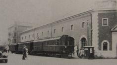 Jernbane - og billetsalg - ved Toldkammeret, 1936 Helsingør Denmark