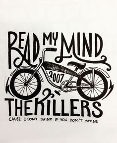 The Killers -  Read My Mind