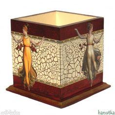 Eurydyki tańczące pudełka hanutka pudełko przybornik decoupage