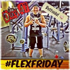 It's Flex Friday! Boulders for shoulders done for day 47 of my Challenge! Now off to Anaheim for the ND and Above Leadership Retreat! #visalus #vilife #bodybyvi #challenge #90daychallenge #beastmode #deltoids #shoulders #flexfriday #fitguy #fitspo #muscles #weightlifting #weighttraining #exercise #fitness