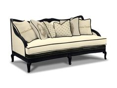 Drexel Heritage Living Room Machelle Sofa L1885 MS   Wow Furniture   Denver,  CO