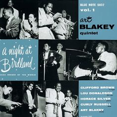 "Art Blakey Quintet - A Night At Birdland With The Art Blakey Quintet Vol. 1 on 10"" Vinyl"