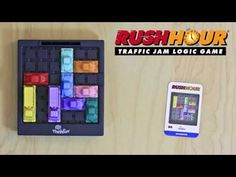 ThinkFun's signature game! A true classic! I was up late in bed last night playing Rush Hour on my iPhone!