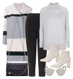"""""""Untitled #10986"""" by minimalmanhattan ❤ liked on Polyvore featuring Vince, STELLA McCARTNEY, Kin by John Lewis, Topshop, Zara and Retrò"""