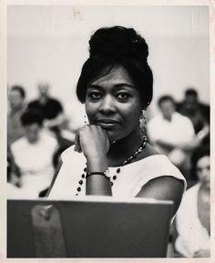 "detroitlib: ""(May 31, 1931 – November 5, 2010) Portrait of mezzo-soprano Shirley Verrett. Handwritten on back: ""Shirley Verrett.""   Courtesy of the E. Azalia Hackley Collection of African Americans in the Performing Arts, Detroit Public Library"