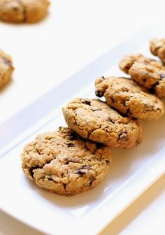 Whole Wheat Chocolate Chip Cookies...except use 1 cup Splenda, 2 cups flour, and bake 8 minutes. Soooo good!!!