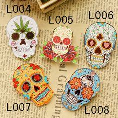 (MIN MIX ORDER IS $10)  Hotsale popular acrylic cool skull brooch Cartoon Harajuku bage♦️ SMS - F A S H I O N 💢👉🏿 http://www.sms.hr/products/min-mix-order-is-10-hotsale-popular-acrylic-cool-skull-brooch-cartoon-harajuku-bage/ US $0.58