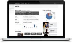 Kegbot: Monitor beer keg volume & control tap access.