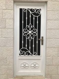 Grill Gate Design, Window Grill Design Modern, Steel Gate Design, Front Gate Design, Door Gate Design, Main Door Design, Iron Front Door, Iron Doors, Iron Window Grill