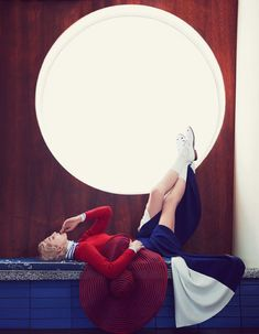 Image result for circle fashion editorial