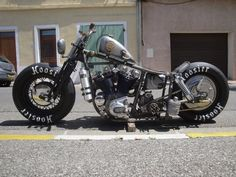 Ironhead w/ Split Valve Covers in 4 Speed Frame